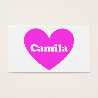 Camila Business Card