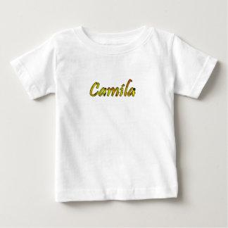 Camila Costumized White Short Sleeve t-shirt