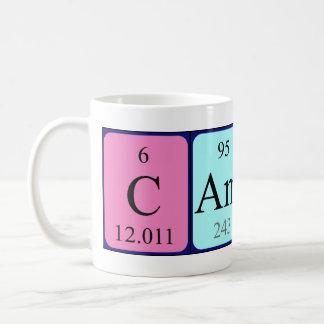 Camila periodic table name mug