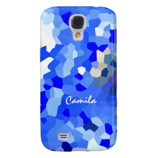 Camila Samsung Galaxy s4 blue case