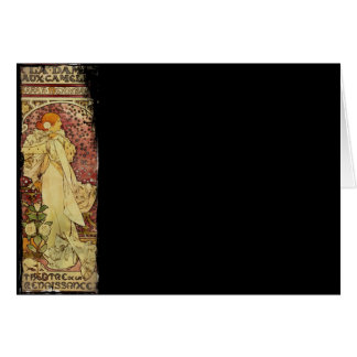 Camilias La Plume or Lady of Camelias Card