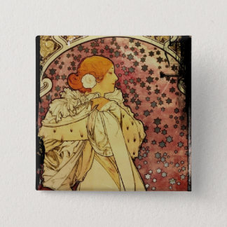 Camilias La Plume or Lady of Camelias Pinback Button