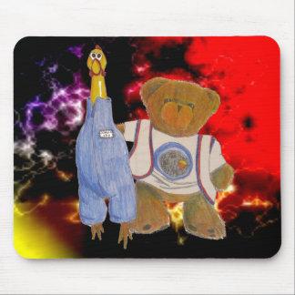 Camilla and Fuzz Solar Flare Mouse Pad