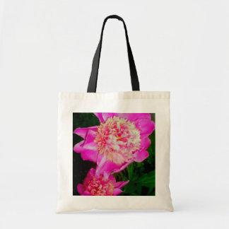 Camilla's Peony Canvas Bags