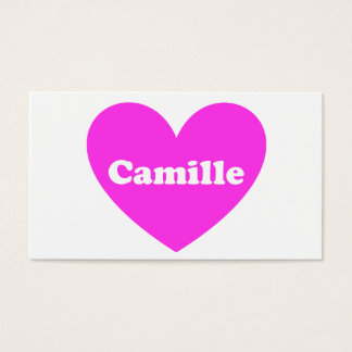 Camille Business Card