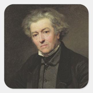 Camille Corot  1858 Square Sticker