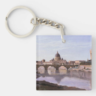 Camille Corot Painting Keychains