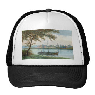 Camille Corot Painting Trucker Hat
