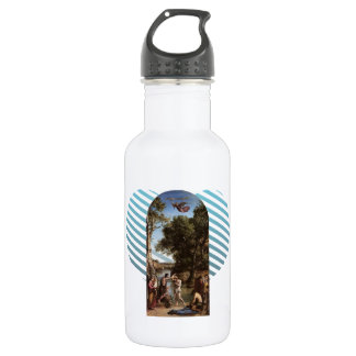 Camille Corot- The Baptism of Christ 18oz Water Bottle