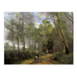 Camille Corot- Ville d'Avray Post Card