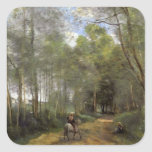 Camille Corot- Ville d'Avray Stickers