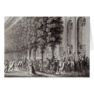 Camille Desmoulins  Speaking at the Palais Card