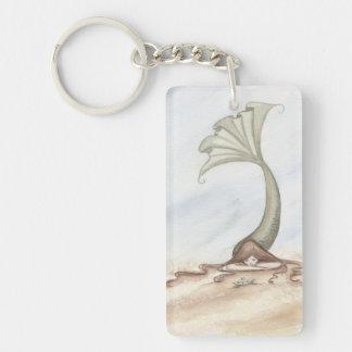 Camille Grimshaw Beach Turtle Mermaid Key Chain