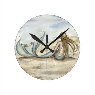 Camille Grimshaw Seaside Mermaid Clock