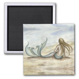 Camille Grimshaw Seaside Mermaid Magnet