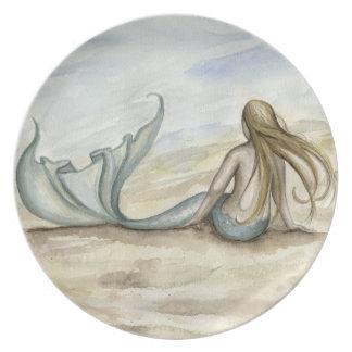 Camille Grimshaw Seaside Mermaid Plate