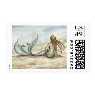 Camille Grimshaw Seaside Mermaid Stamp