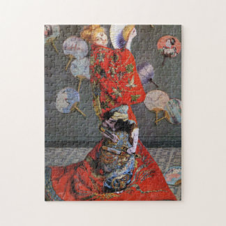 Camille in Japanese Costume Monet Fine Art Jigsaw Puzzle