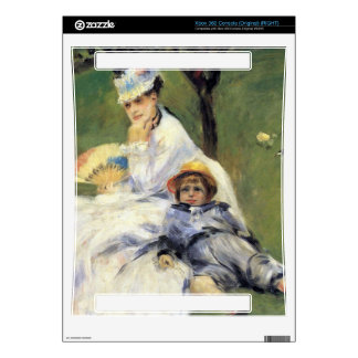 Camille Monet and her son Jean by Renoir Xbox 360 Decals