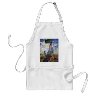 Camille Monet And Son Jean On The Hill Adult Apron