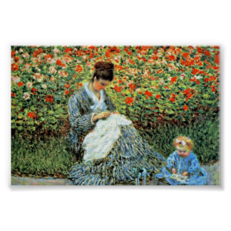 Camille Monet & Child Monet Mother's Day Print
