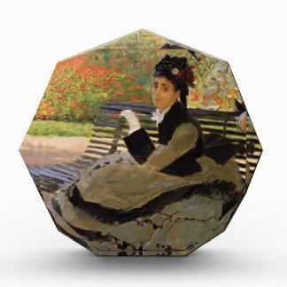 Camille Monet on a Garden Bench - Claude Monet Award