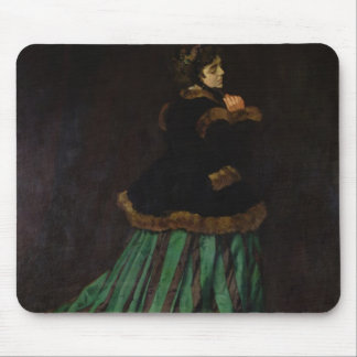 Camille, or The Woman in the Green Dress, 1866 Mouse Pad