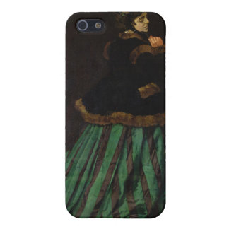 Camille, or The Woman with a Green Dress (1866) iPhone SE/5/5s Case