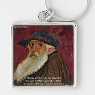 Camille Pissarrio Beauty Quote Gifts Cards Keychain