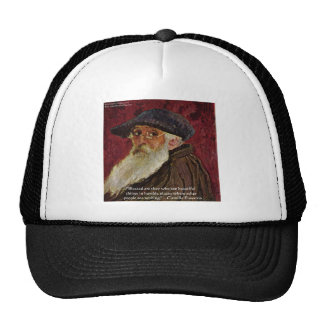 Camille Pissarrio Beauty Quote Gifts & Cards Trucker Hat
