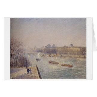 Camille Pissarro - 1901 winter sun morning frost Card