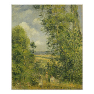 Camille Pissarro | A Rest in the Meadow Poster