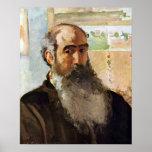 Camille Pissarro - autorretrato Poster