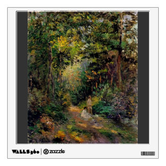 Camille Pissarro- Autumn Path through the Woods Wall Graphic