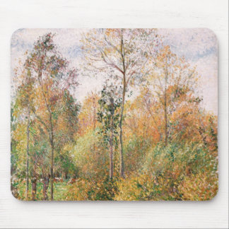 Camille Pissarro - Autumn Poplars Eragny Mousepads