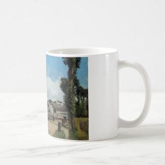 Camille Pissarro - Banks of the Oise at Pontoise Coffee Mug