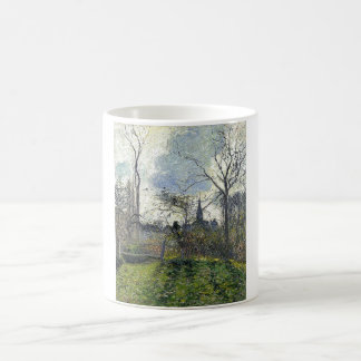Camille Pissarro - Bell Tower of Bazincourt 1885 Coffee Mug