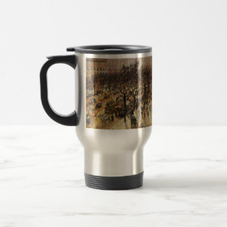Camille Pissarro- Boulevard des Italiens Afternoon 15 Oz Stainless Steel Travel Mug