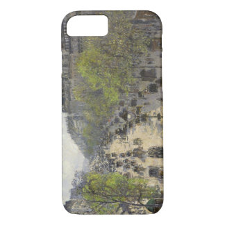 Camille Pissarro - Boulevard Montmartre, Spring iPhone 7 Case