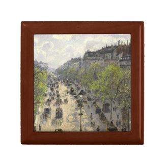 Camille Pissarro - Boulevard Montmartre, Spring Jewelry Box
