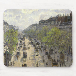 Camille Pissarro - Boulevard Montmartre, Spring Mouse Pad