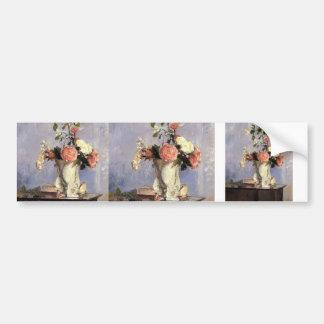 Camille Pissarro- Bouquet of Flowers Bumper Stickers