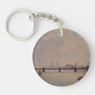 Camille Pissarro- Charing Cross Bridge, London Acrylic Keychain