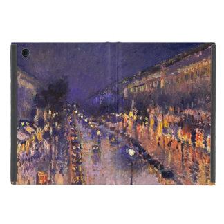 Camille Pissarro el bulevar Montmartre en la noche iPad Mini Cárcasa