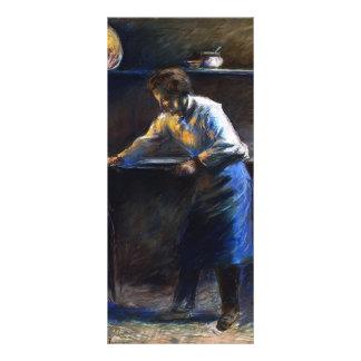 Camille Pissarro- Eugene Murer at His Pastry Oven Rack Card Design