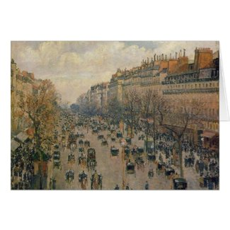 Camille Pissarro Fine Art Gifts and Tees card