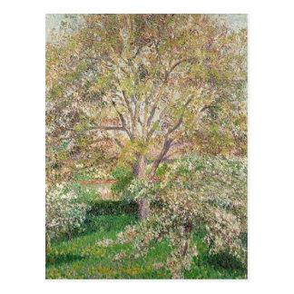 Camille Pissarro Fine Art Impressionist cards, Gif Postcard