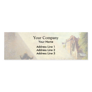 Camille Pissarro- Flock of Sheep Business Card Templates
