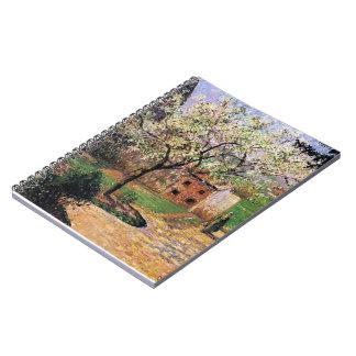 Camille Pissarro- Flowering Plum Tree Eragny Note Books