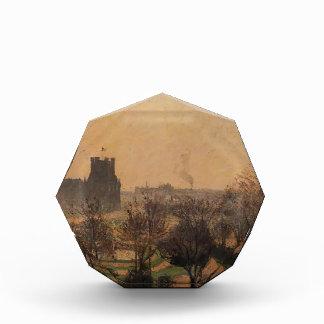 Camille Pissarro- Garden of the Louvre Fog Effect Acrylic Award